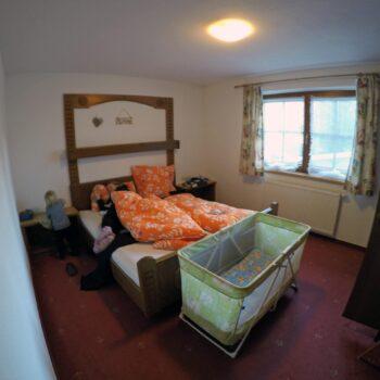 Haus Rosenegg Schlafzimmer.