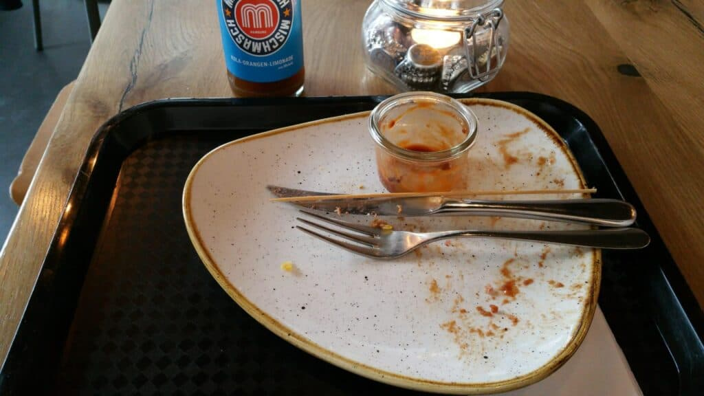 Mittagsmenü Lindenblatt Burger-Bar beendet