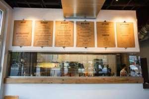 Bestelltresen Lindenblatt Burger-Bar