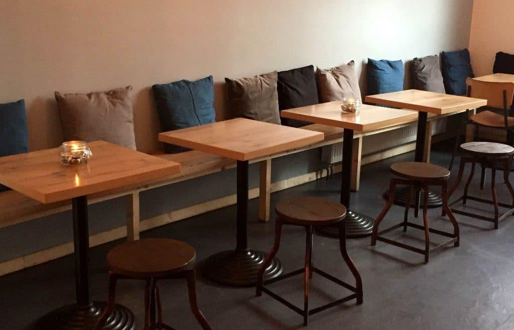 Einrichtung Lindenblatt Burger-Bar
