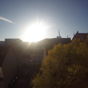 Sonnenuntergang über Hannover
