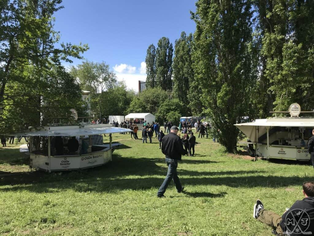 Punk in Drublic 2019 - Eingangsbereich Faustwiese