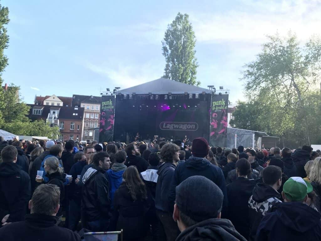 Punk in Drublic 2019 - Lagwagon Bild 2