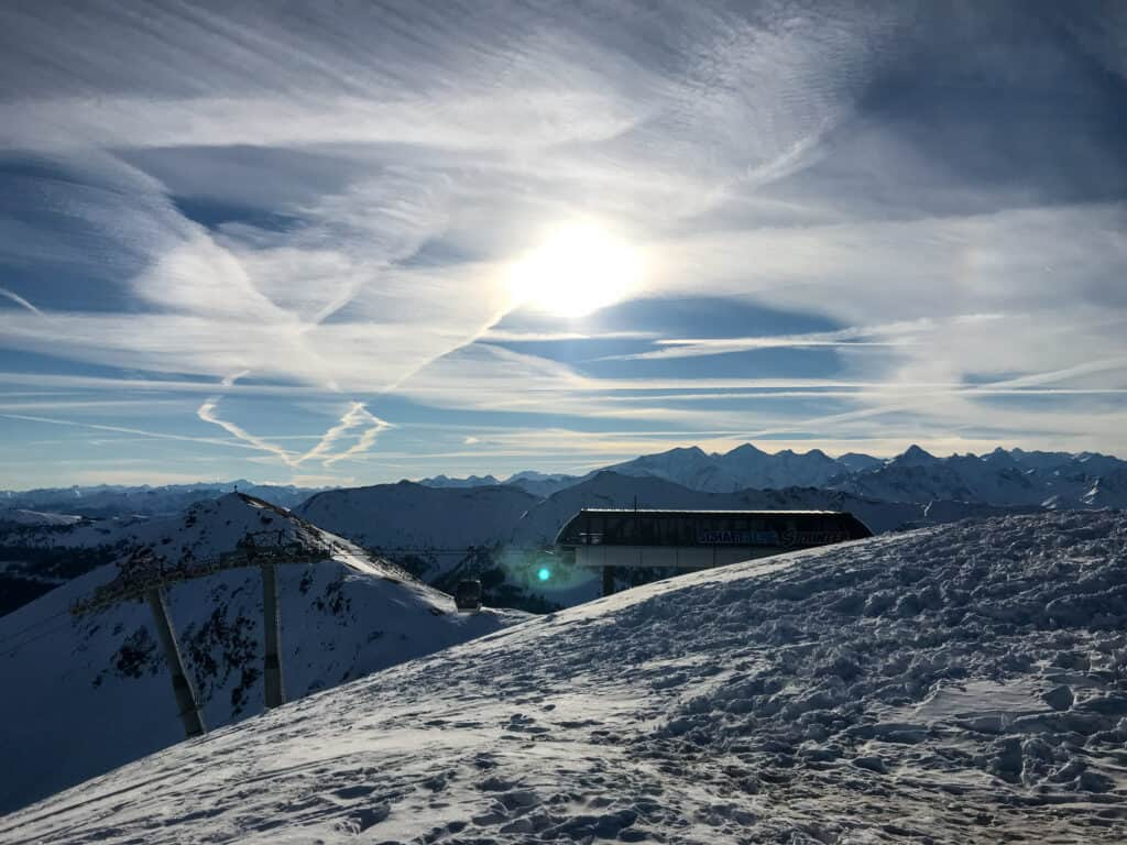Saalbach-Hinterglemm - Gipfel Schattberg