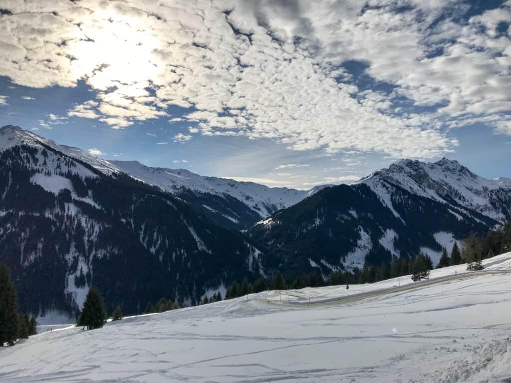 Saalbach-Hinterglemm - Wolkenschauspiel